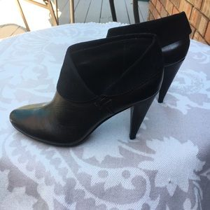 Coach Annika Leather Booties